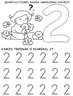 2 - Atividades com Números Educação Infantil