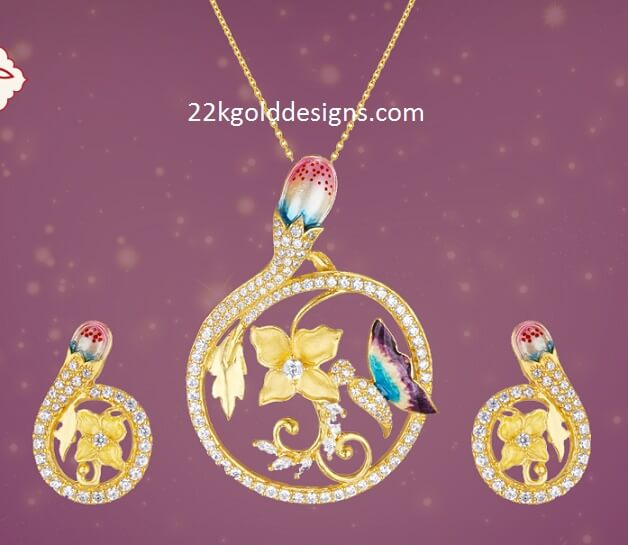 Stylish Pendant Set for Modern Women