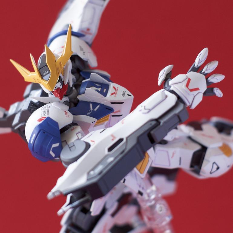 Custom Build: HG 1/144 Gundam Barbatos Lupus Rex [Detailed]