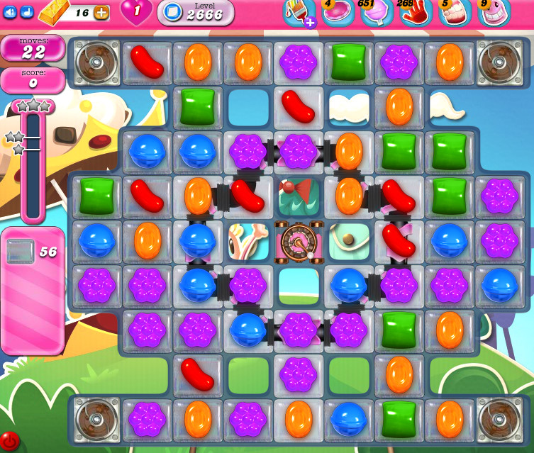 Candy Crush Saga level 2666