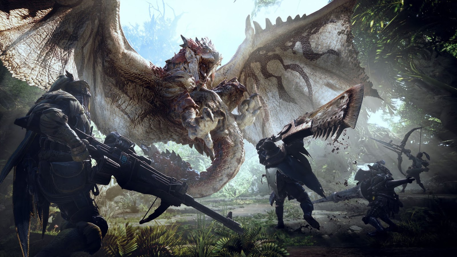 Monster Hunter: World: Трейнер/Trainer (+45) Updated 2018