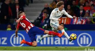 Atletico Madrid vs Real Madrid Imbang 0-0 Highlights