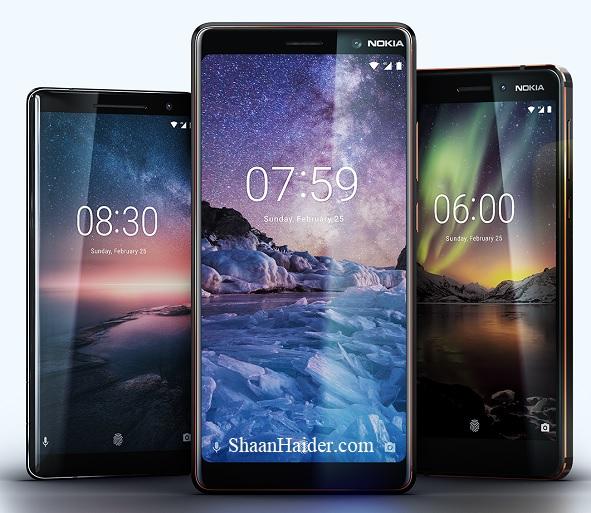 Nokia 8 Sirocco, Nokia 7 Plus, Nokia 6 2018, Nokia 1, Nokia 8110 - Hardware Specs, Features, Price
