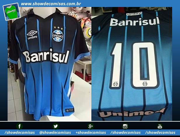 ed21d6c609620 O lançamento oficial está previsto para ocorrer durante as festividades de  113 anos do clube gaúcho. Compre camisas do Grêmio ...