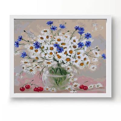Tranh son dau so hoa o pho Hang Bo