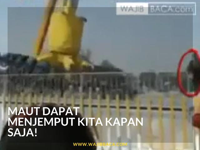 Video : Renungkanlah! Maut Bisa Datang Menjemput Kapan Saja
