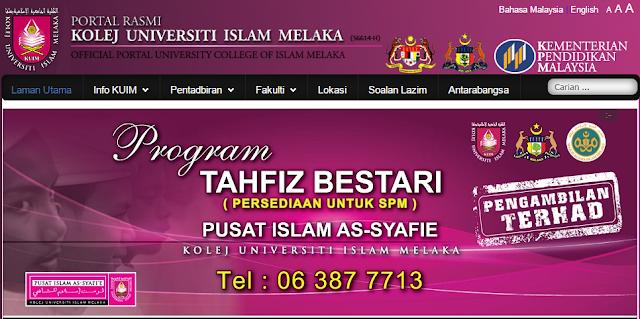 Rasmi - Jawatan Kosong (KUIM) Kolej Universiti Islam Melaka Terkini 2019