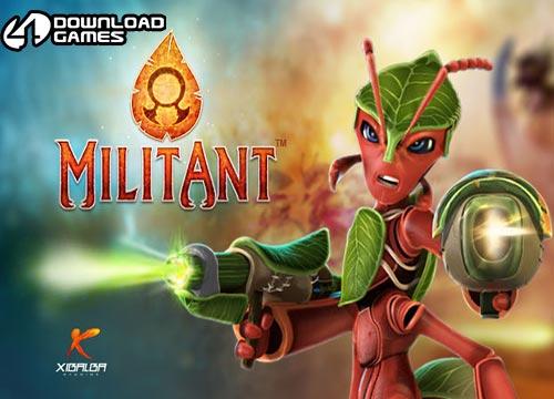 لعبة النمل المقاتل militantgame