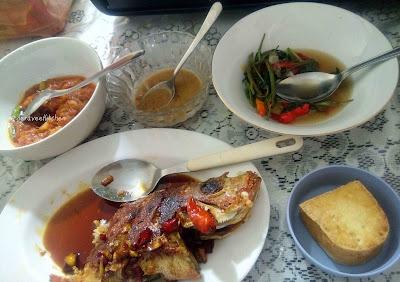 udang saus padang seafood