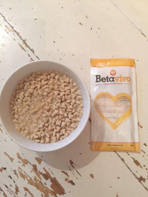 Betavivo oat cereal