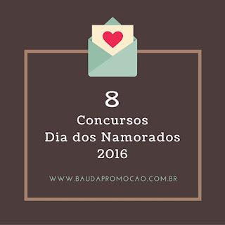 Concurso Cultural Dia dos Namorados 2016
