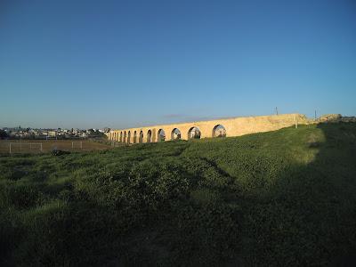 Larnaka akwedukt zima