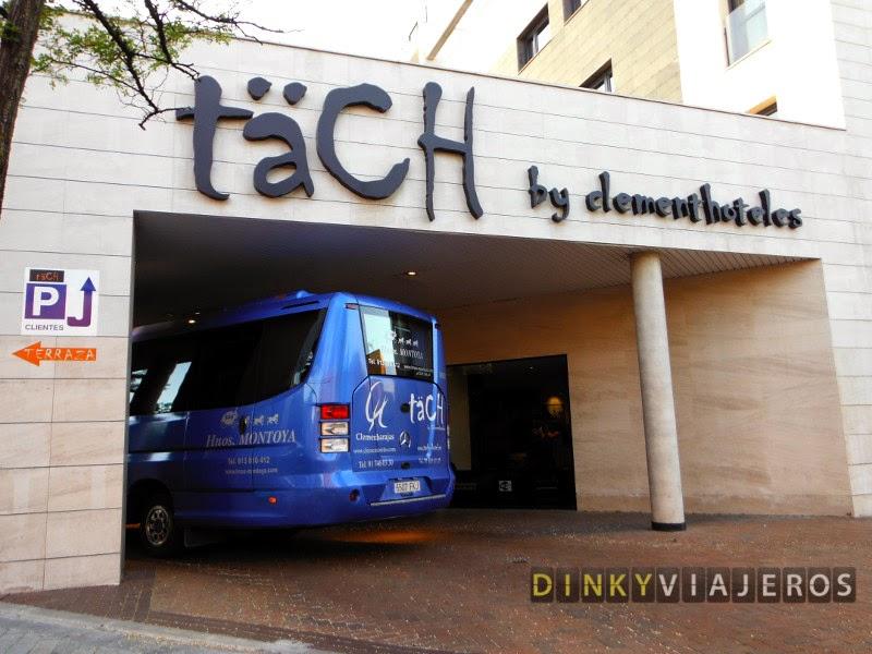 Hotel Täch Madrid Airport 4*. Entrada y autobús para el transfer
