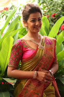 Actress Nikki Galrani Latest Pos in Saree Neruppu Da Movie Audio Launch  0018.jpg