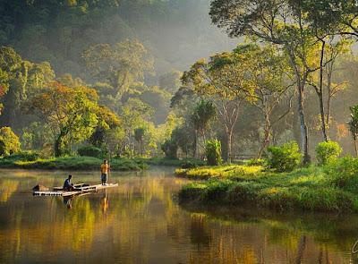 danau situ gunung, jembatan situ gunung, jembatan gantung situ gunung, wisata situ gunung, gunung gede pangrango