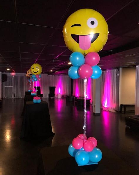 101 fiestas Ideas para tus centros de mesa de emoji o emoticones
