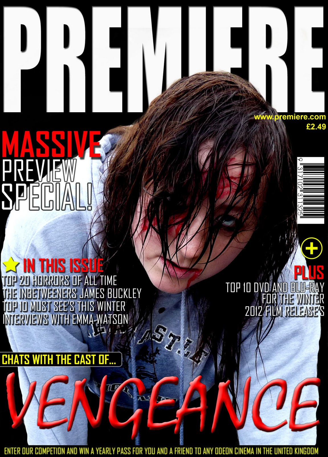 shaun liddle  examples of horror magazines