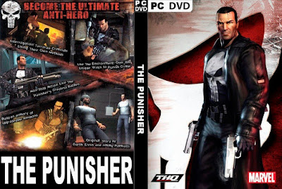 Jogo The Punisher PC DVD Capa
