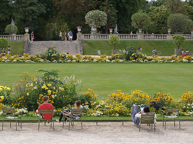 Jardin du Luxembourg, Paris © Laura Próspero