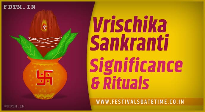 Vrischika Sankranti: Know The Significance and Importance of Vrischika Sankranti