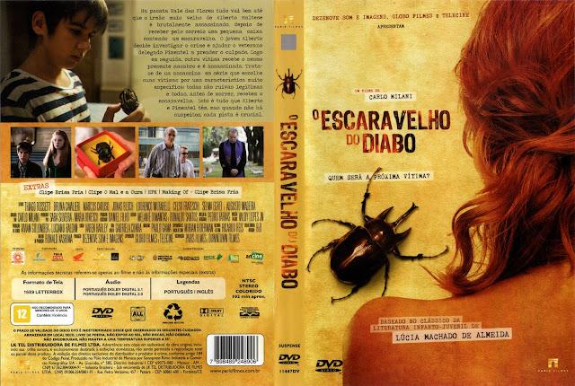 Capa DVD O Escaravelho Do Diabo