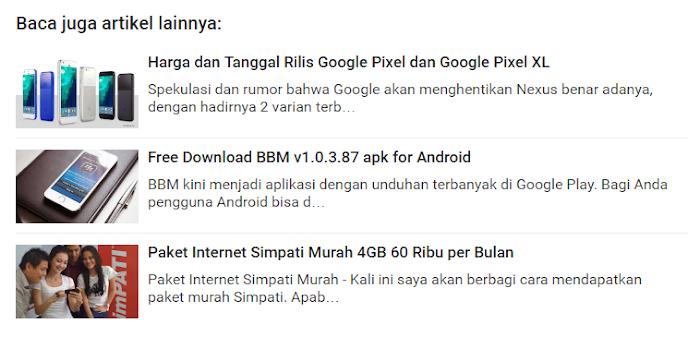Related post widget random amp html blogger template