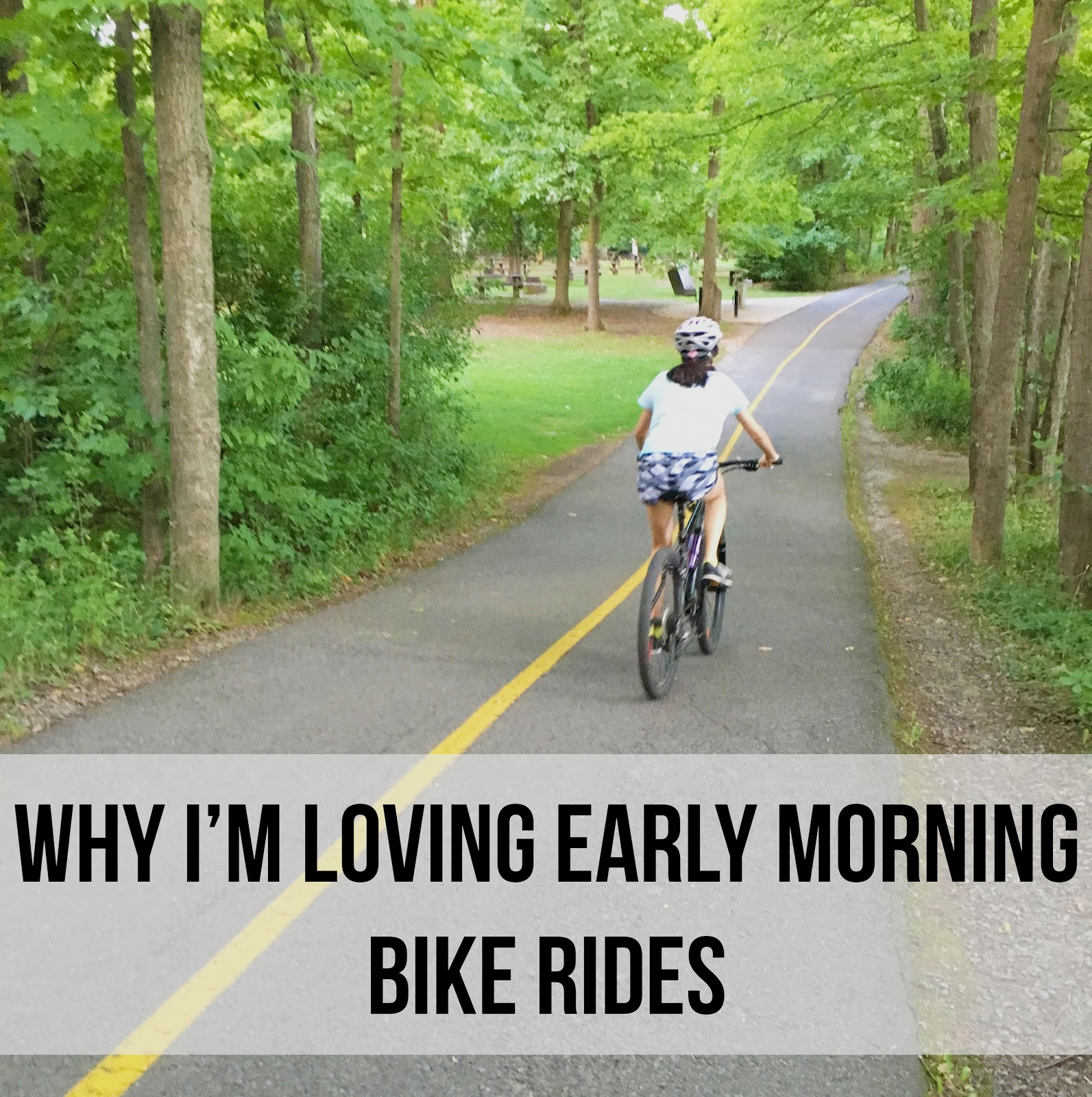 Why I'm Loving Early Morning Bike Rides | Akinokiki