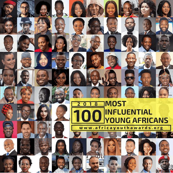 2018 100 Most Influential Young Africans Announced!