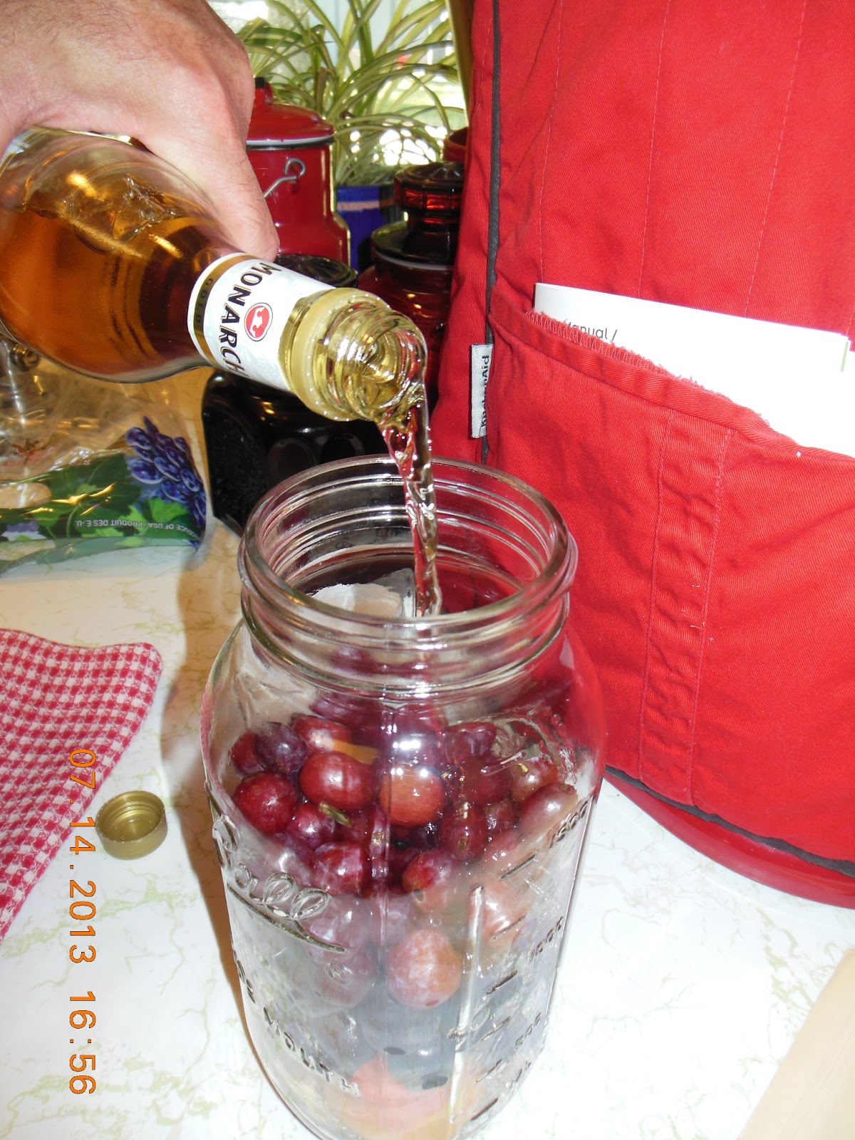 "How to make, Homemade Christmas ""Brandy"", not true brandy, but festive, easy and delicious!"