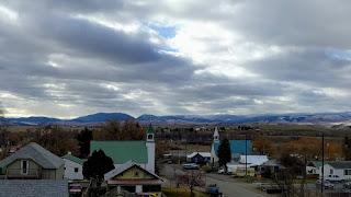 Saint Michael's Catholic and Granite County Methodist Church, Drummond, Montana