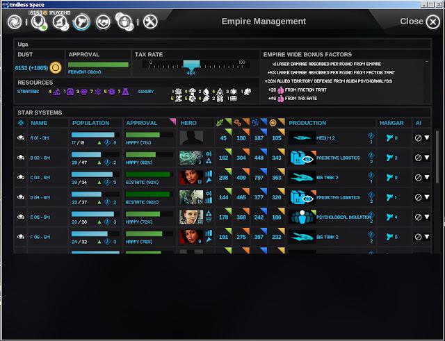 Endless Space - Colonial Leaders Screenshot