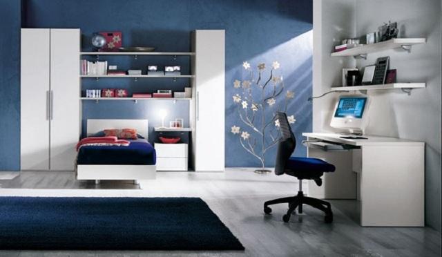 como ordenar o organizar un dormitorio juvenil