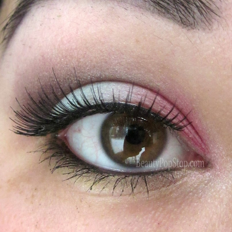 make up for ever arty blossom palette makeup tutorial