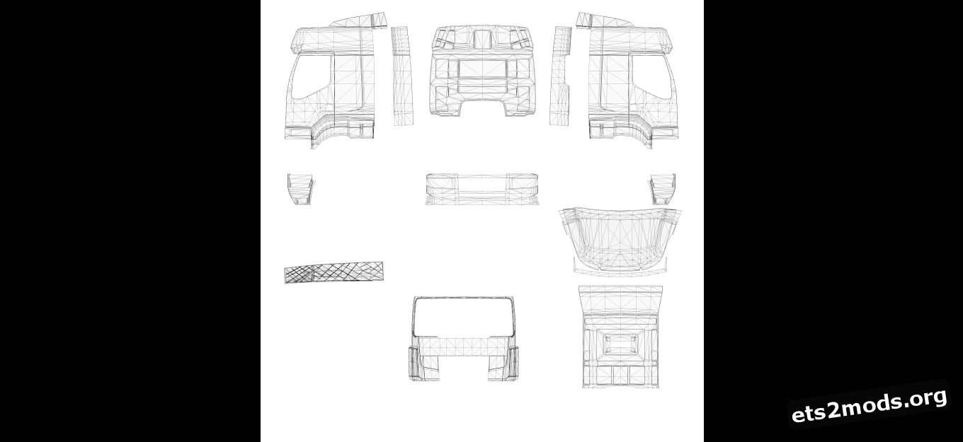 Template - Sisu Truck by RJL
