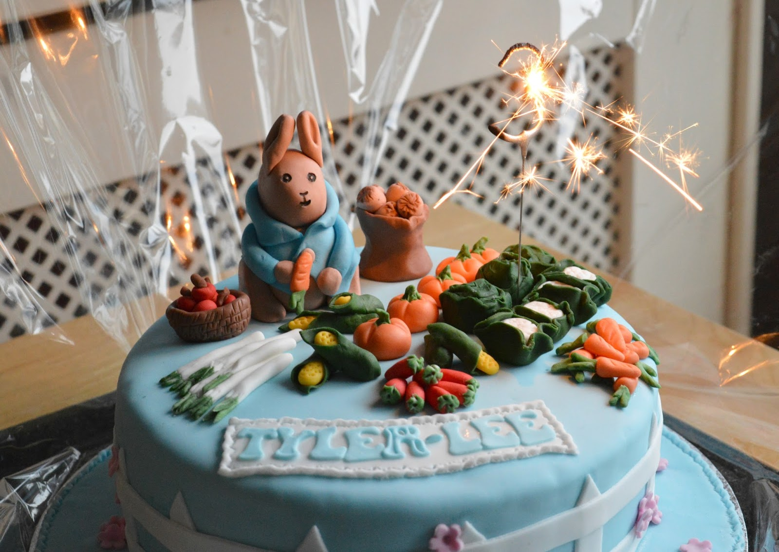 A Peter Rabbit Birthday Cake Dolly Dowsie