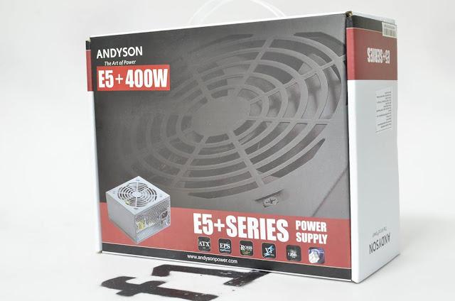 Andyson E5+ 300W -Passive PFC Single Rail True Power 3