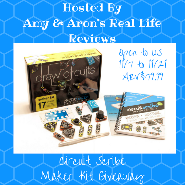 Circuit Scribe Maker Kit Giveaway 11/7 to 11/21