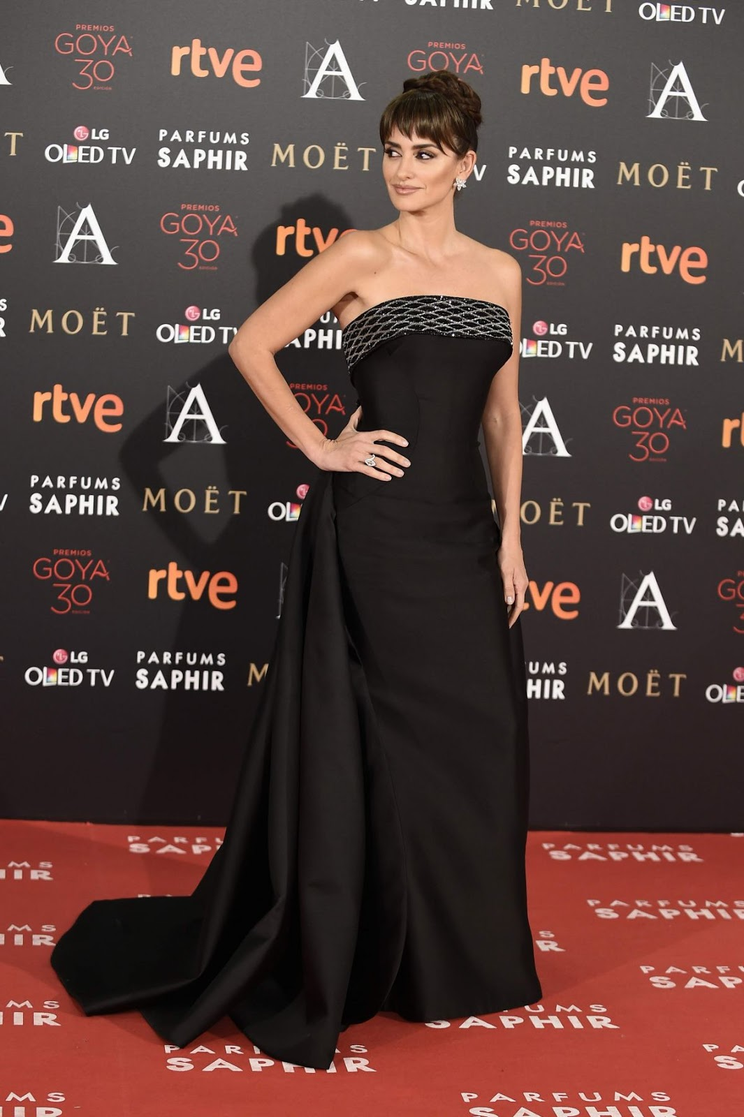 Penelope Cruz attends 30th Annual Goya Film Awards 2016