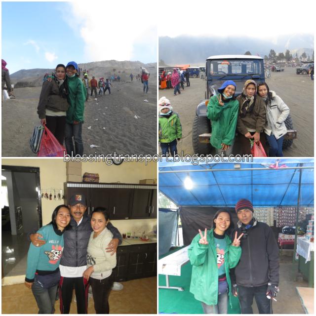 Wen Xin, transport from surabaya to bromo-ijen 3D2N, singel traveler