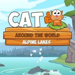 Jugar a  Un gato por el mundo: lagos alpinos