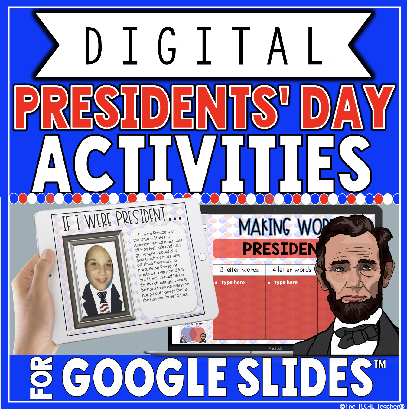 Digital Presidents' Day Activities for Google Slides