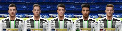 PES 6 Facepack Borussia Mönchengladbach 2018/2019 by Cuervo96