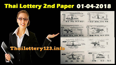 Thai Lottery 2nd Paper