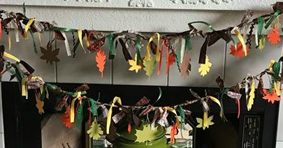 GIRLS NIGHT OUT - FALL GARLAND