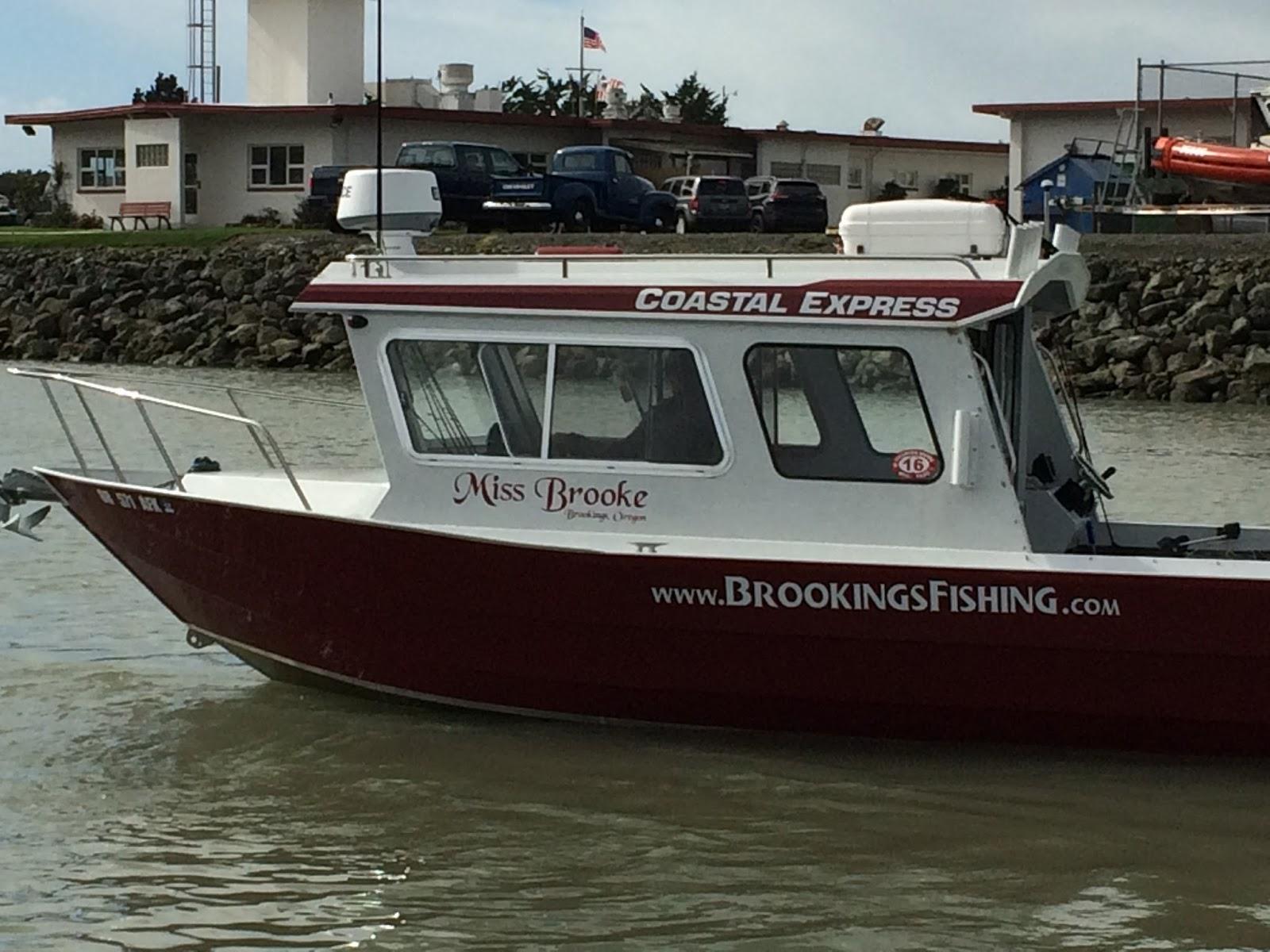 Brookings oregon fishing charters 2016 brookings ocean for Brookings fishing charters