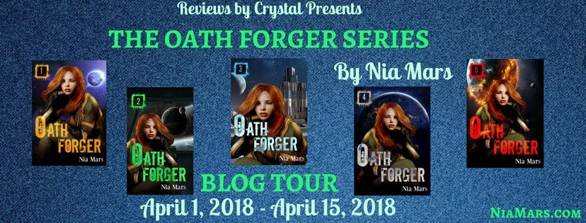 Oath Forger #2, A Reverse Harem Sci-fi Romance from Nia Mars