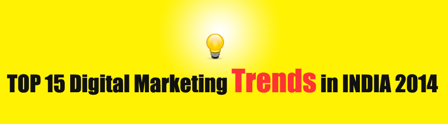 Top Digital Marketing Trends India