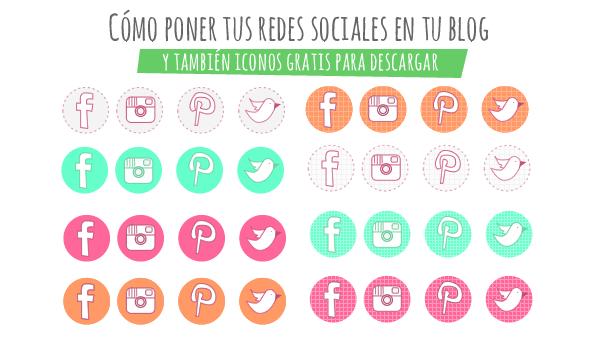 Sitio Del Día Picons Iconos De Redes Sociales Para: Ruben D. Resplandor G.: Cómo Poner Tus Redes Sociales En