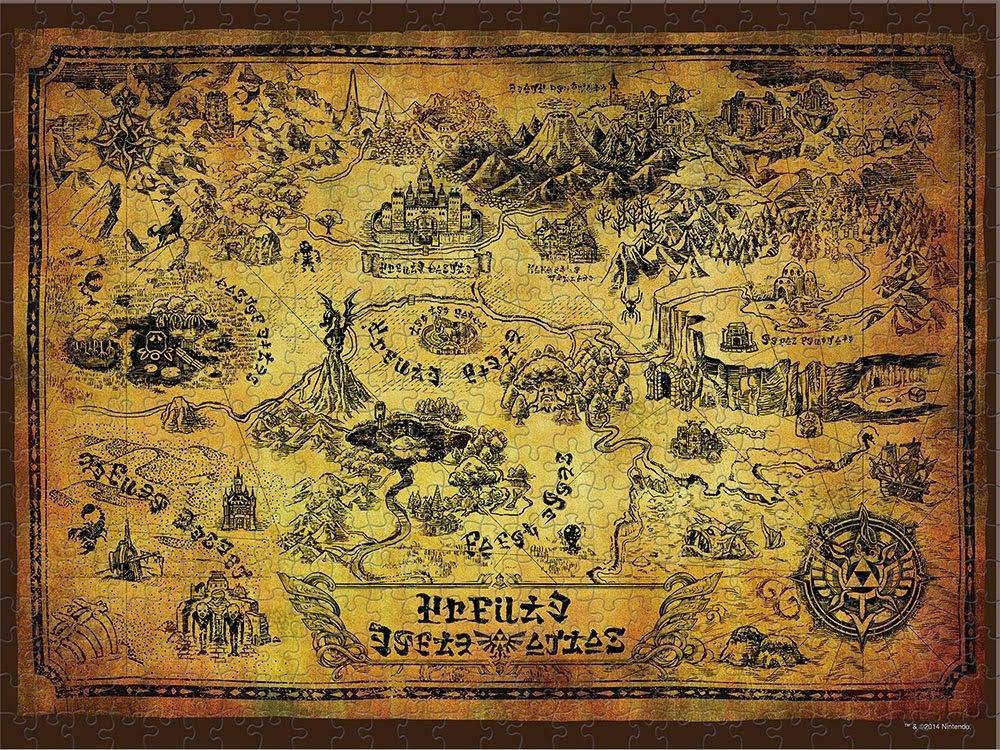 Zelda  Map