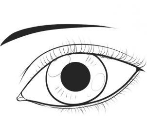 EGYPainters: سلسلــة عيُون.. عين بسيطة